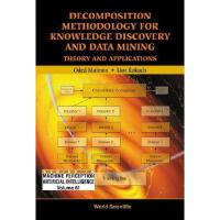 【预订】Decomposition Methodology for Knowledge Discovery