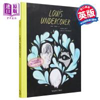 【中商原版】路易・青春・练习曲 英文原版 Louis Undercover 精装 亲情 青春故事 8-12岁