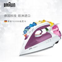 Braun/博朗 TS320C 家用电熨斗迷你烫斗有线蒸汽手持式烫衣挂烫机