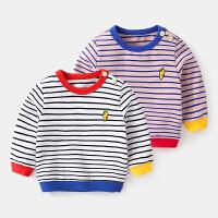 婴儿卫衣t恤宝宝打底衫女上衣男春秋长袖衣服新生儿体恤