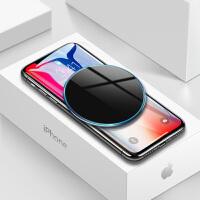 iphoneX苹果8无线充电器iPhone8三星s8手机P快充Plus小米八X专用原装mix2s薄qi无限立式充电板s