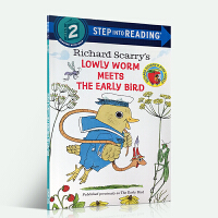 英文原版 Step into Reading 3 Richard Scarry's The Early Bird 理查