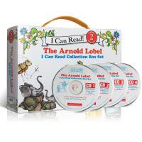英文原版绘本 I Can Read Leve 2 (10书+4CDs) 汪培廷第二三阶段书单 frog and toa