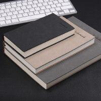 记事本a5加厚办公用大日记本复古加厚工作笔记本文具商务定制本子B5笔记本子A6小随身记录本定做订做LOGO