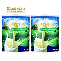 Karivita 卡瑞特兹 新西兰进口全脂奶粉 高钙成人奶粉 900g*2罐