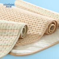 可洗宝宝儿童用品 彩棉婴儿隔尿垫大款透气