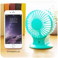 静音可充电迷你usb小型电风扇 学生宿舍寝室电扇床上便携式空调