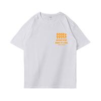 夏季短袖t恤男士纯棉圆领潮流体恤半袖�B男装打底衫大码衣服宽松