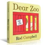 【发顺丰】英文原版 Dear Zoo : A Lift-the-Flap Book 亲爱的动物园 儿童趣味动物园立体翻