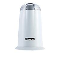 商用细研磨机中药打粉机电动小型粉碎机家用五谷杂粮咖啡磨粉机 白色
