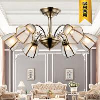 祺家现代简约欧式LED复古铜焊锡吸顶灯餐厅灯客厅灯SX12