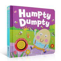 英文原版书绘本 Humpty Dumpty 蛋宝贝 纸板有发声书 正版进口少儿图书 英语温暖陪伴童谣
