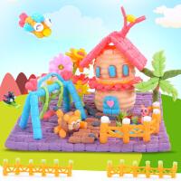 手工制作材料幼儿园玉米玩具儿童魔法积木diy玉米粒