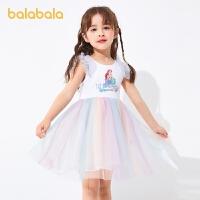 【抢购价:79】【迪士尼】巴拉巴拉女童连衣裙宝宝夏季小童儿童裙子