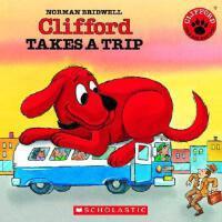 英文原版儿童书Clifford Takes a Trip [With Paperback Book]大红狗去旅行(含C