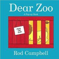 英文原版儿童书 Dear Zoo: A Pop-Up Book 亲爱的动物园