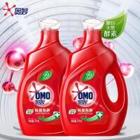 奥妙洗衣液 除菌除螨 源自天然酵素 3KG+3KG家庭装 新老包装随机