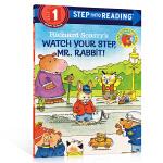 英文原版绘本step into reading Level 1 Richard Scarry's Watch Your