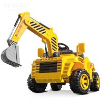 大型玩具车可坐人超大儿童电动挖掘机遥控玩具可坐可骑挖土机工程车滑行四轮 官方标配