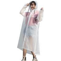 雨衣女成人电动电瓶车雨衣长款全身透明骑行徒步男自行车雨披儿童
