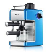 小熊(Bear)咖啡机 家用意式蒸汽咖啡机 可打奶泡 咖啡壶 KFJ-202AA