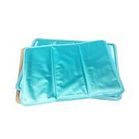 户外出游汽车坐垫夏季凉垫冰垫冰晶沙坐垫降温防暑垫浅蓝色