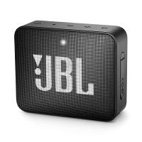JBL GO2升级版音乐金砖二代无线蓝牙音箱户外便携迷你小音响低音 黑色
