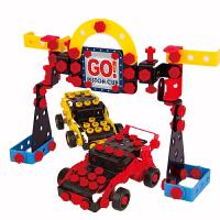 赛车总动员闪电麦昆拼装模型车消防车工程车男孩汽车模型玩具 赛车总动员组合模型套装