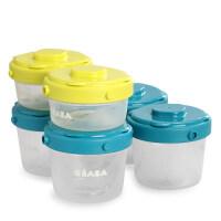 法国BEABA辅食盒宝宝餐具婴儿冷冻盒储存保鲜盒零食便携密封罐