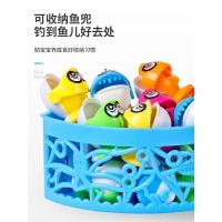 宝宝小猫钓鱼小孩玩具套装1-2儿童4磁性3-6周岁电动女孩男孩
