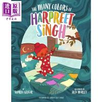 【中商原版】标签的颜色 Many Colors of Harpreet Singh英文原版 亲子绘本 故事书 3~7岁