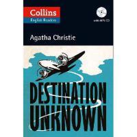 【现货】英文原版 阿加莎ELT读本(68页)+CD:地狱之旅 Collins ELT Reader: Destinat
