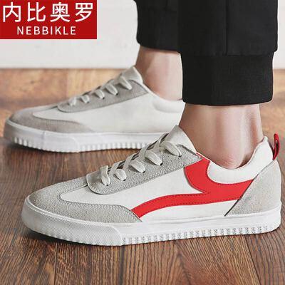新款鞋子男韩版潮流帆布鞋板鞋百搭鞋子运动鞋
