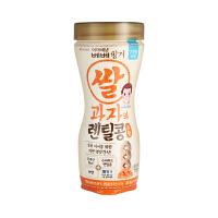 ivenet艾唯倪泡芙米饼 宝宝米饼 柑橘味