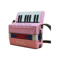 8贝斯17键儿童初学手风琴乐器儿童早教男女孩乐器玩具送教程曲谱