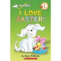 学乐小面条系列我爱复活节1级 NOODLES: I LOVE EASTER进口原版6-8-10-12岁少儿童文学睡前故