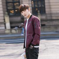 青少年男装外套春季新款休闲棒球服韩版潮流学生薄款修身夹克男潮