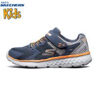 【斯凯奇大牌日】Skechers斯凯奇官方秋季男童儿童跑步鞋 网布轻质运动鞋97680L
