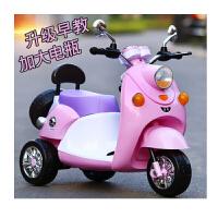 儿童电动车摩托车三轮车可坐1-6岁男女宝宝婴小孩遥控玩具早教电瓶童车