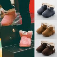儿童棉鞋女童二棉鞋毛毛鞋男童棉鞋保暖冬季加绒宝宝冬鞋拖鞋宝宝