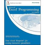 【预订】Excel Programming: Your Visual Blueprint For