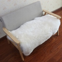 现代简约羊毛沙发垫 冬季毛绒坐垫 沙发羊皮坐垫防滑皮毛一体定制