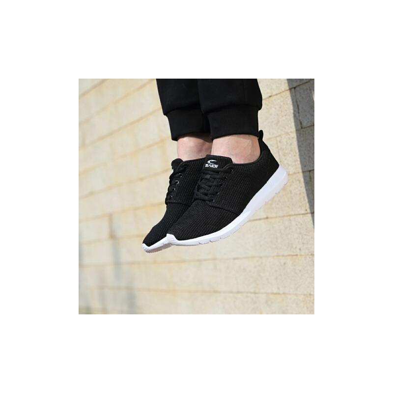 赛琪男鞋运动鞋新款网面透气减震休闲鞋跑步鞋轻便旅游鞋