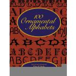 【预订】100 Ornamental Alphabets