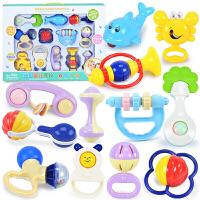 婴儿玩具0-1岁新生儿早教手抓摇铃新生儿0-6-12个月宝宝牙胶