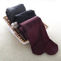 【内衣优选】高腰斜纹压力保暖裤袜美腿塑身连裤袜 均码