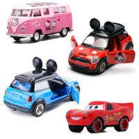 合金汽车模型宝马MINI甲壳虫回力男孩玩具车仿真儿童小汽车