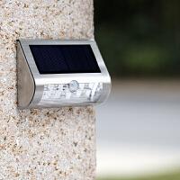 户外防水庭院灯室外壁灯现代简约人体感应太阳能灯