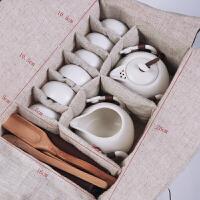 简单茶具 旅行茶具套装便携包户外旅游外出随身整套简单功夫荼具