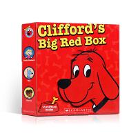 【全店300减100】英文原版绘本 Clifford the Big Red Dog 大红狗系列 10册礼盒装儿童启蒙绘